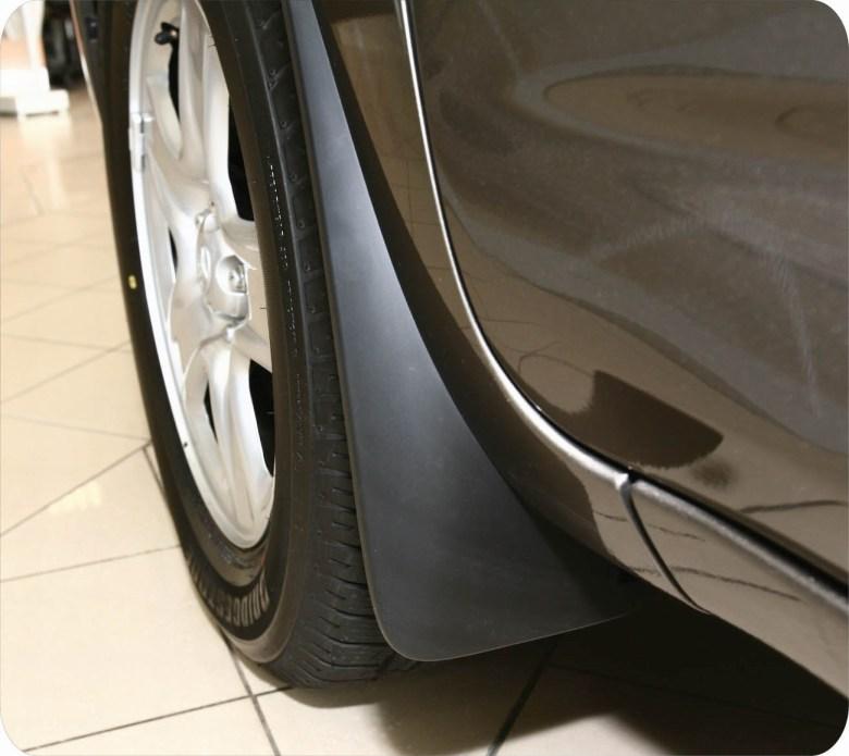 Функции передних автомобильных брызговиков