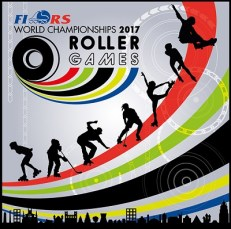 FIRS Roller Games 2017 stamp