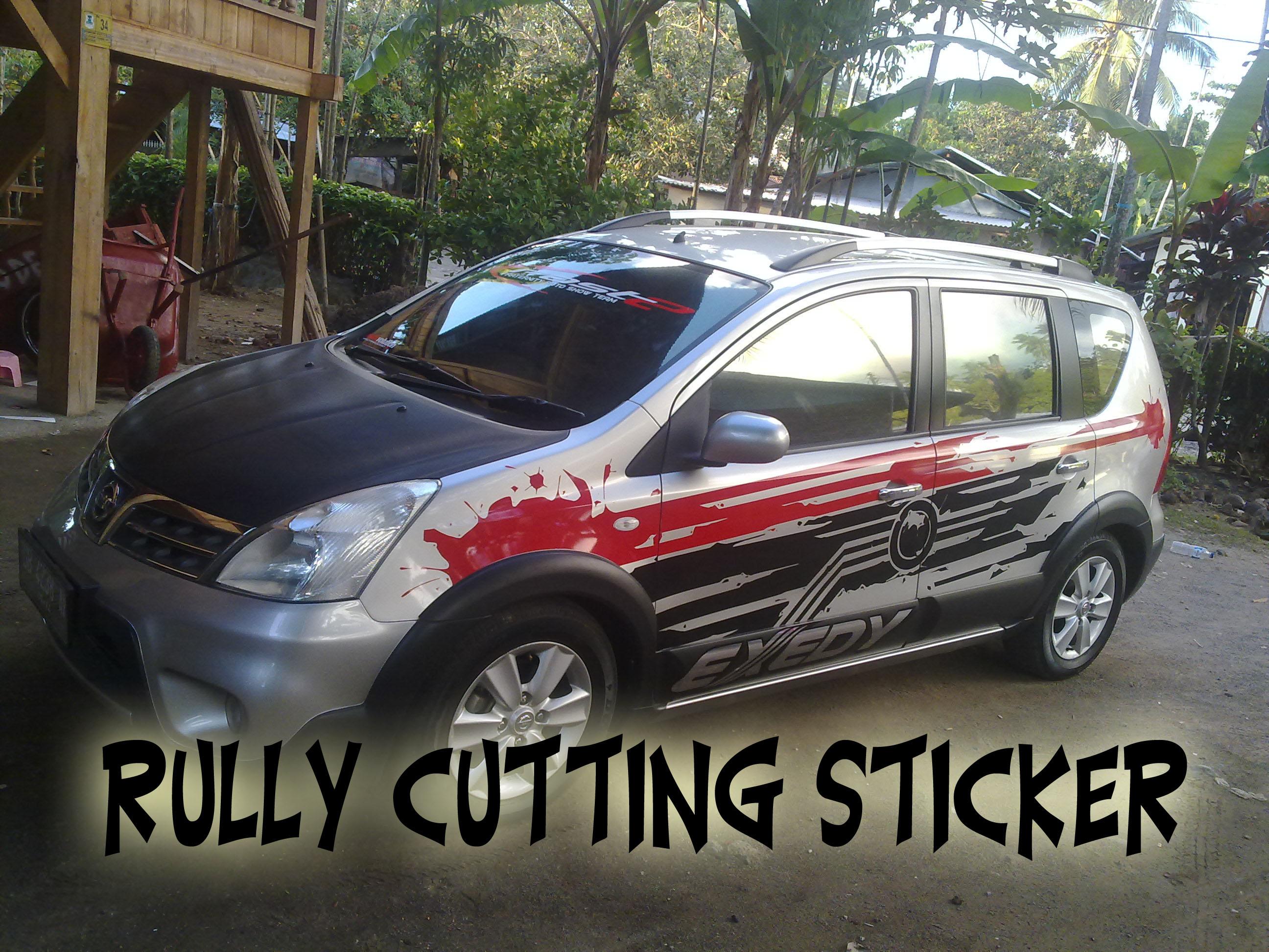 cutting sticker grand new avanza veloz 1.5 2017 nissan livina rully r c s
