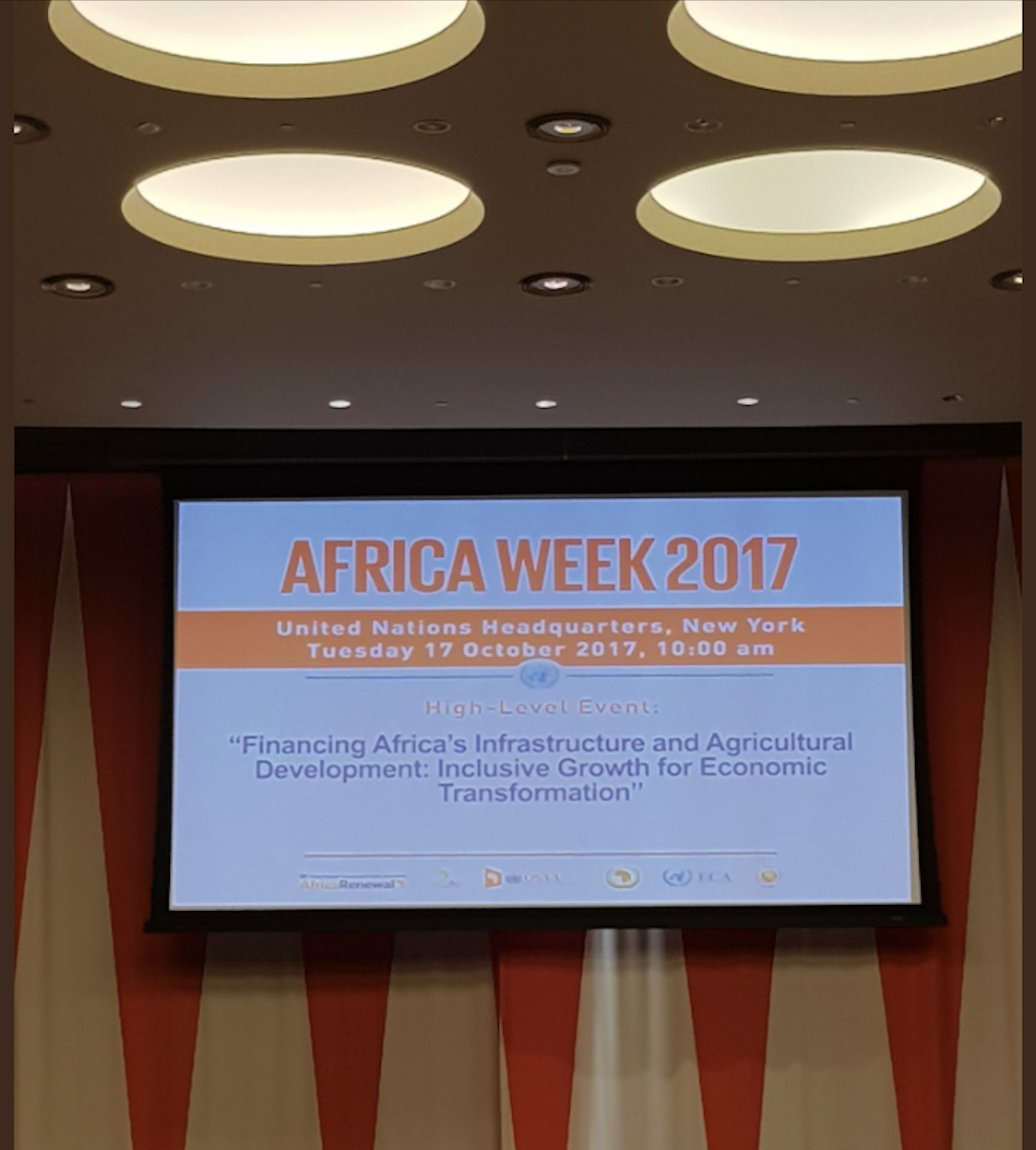 Financing Africa s infrastructure and agricultural development Inclusive growth for economic transformation