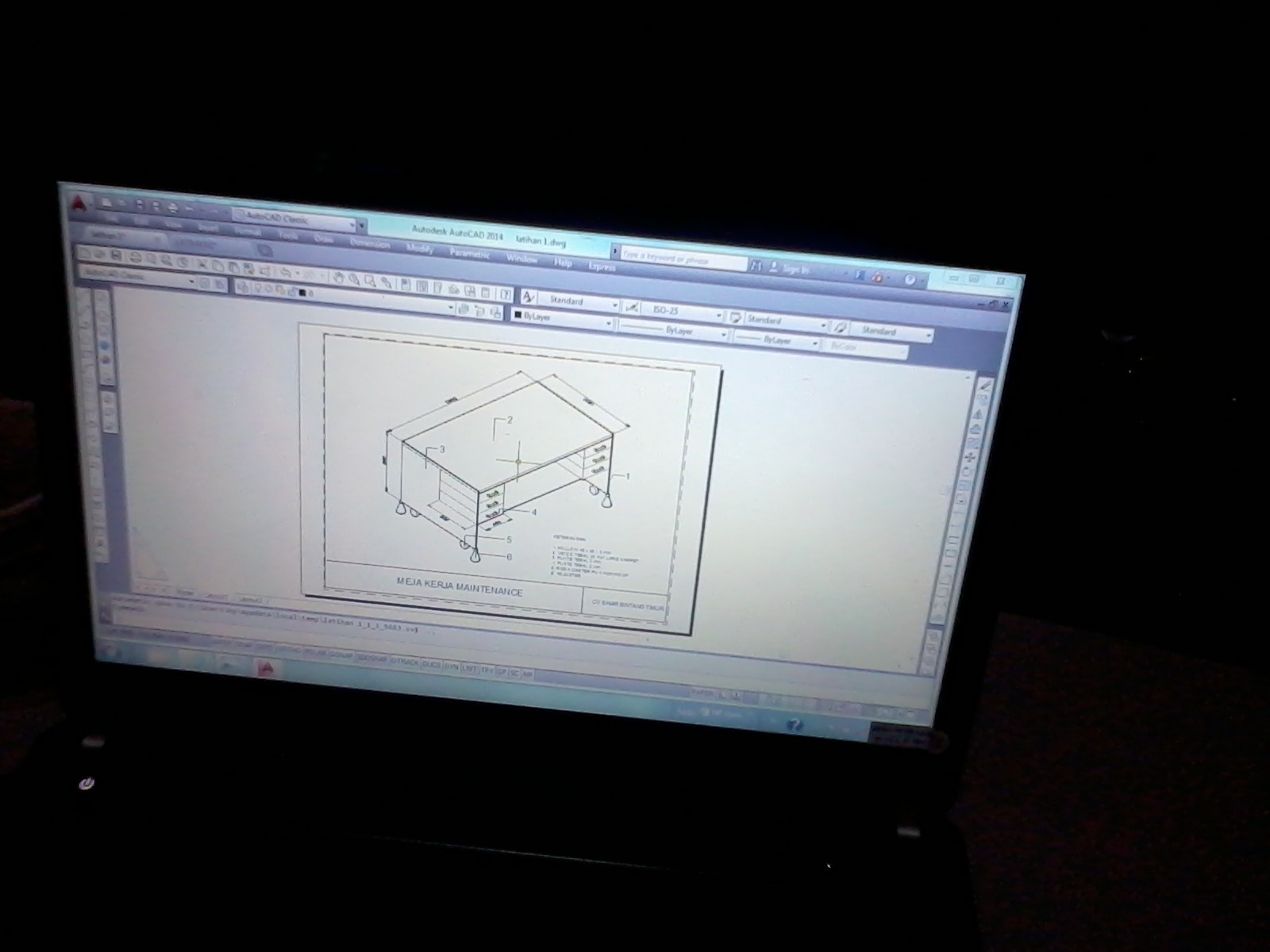 materi kursus autocad 3d mechanical