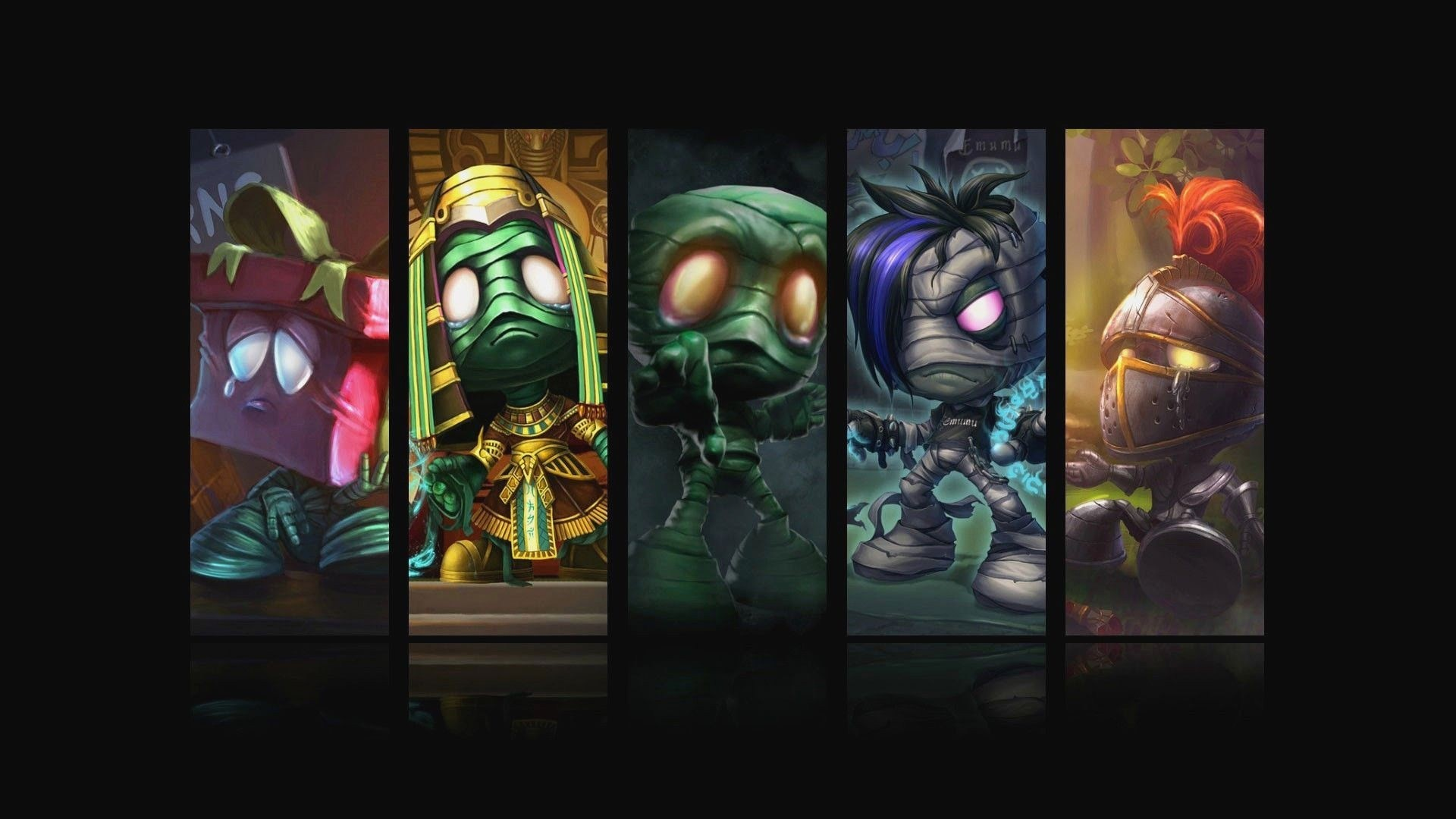 Mobile Legends Heroes Wallpaper Hd Awesome Lol Wallpaper Beautiful Amumu All Skin League Legends 0d Unique