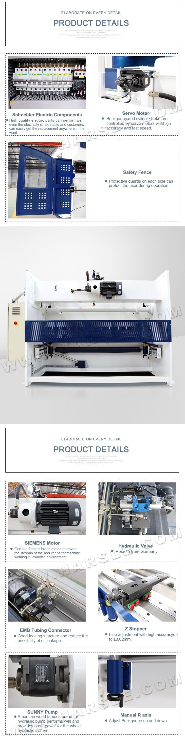 here to Buy Now CNC NC bending plat hidrolik tekan rem mesin press rem servo sistem rem tekan