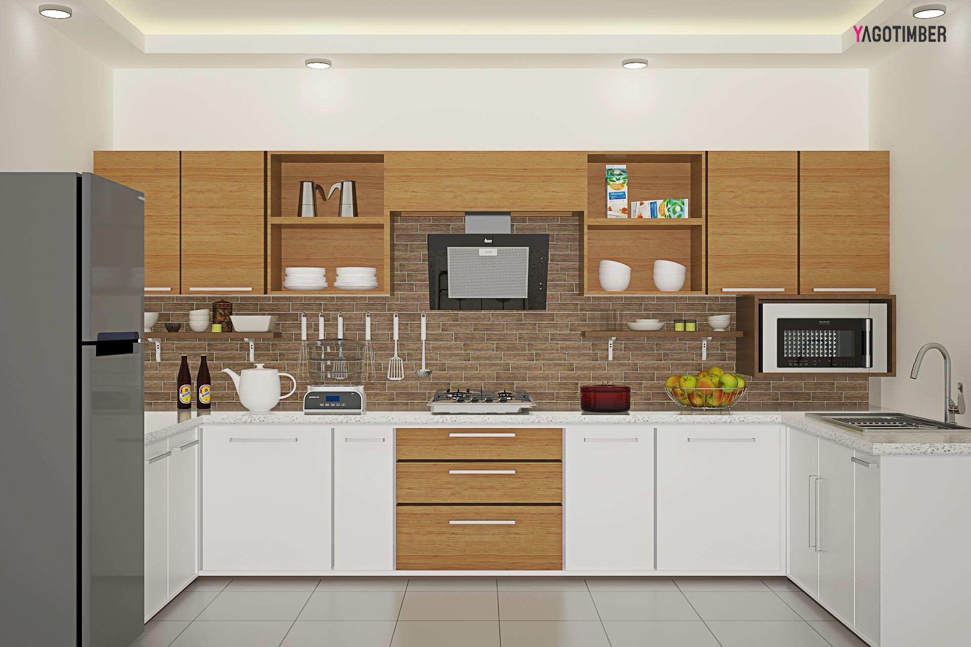 Desain Kitchen Set Modern Kecil Terbagus Untuk is A U Shaped Layout the Right Choice for Your