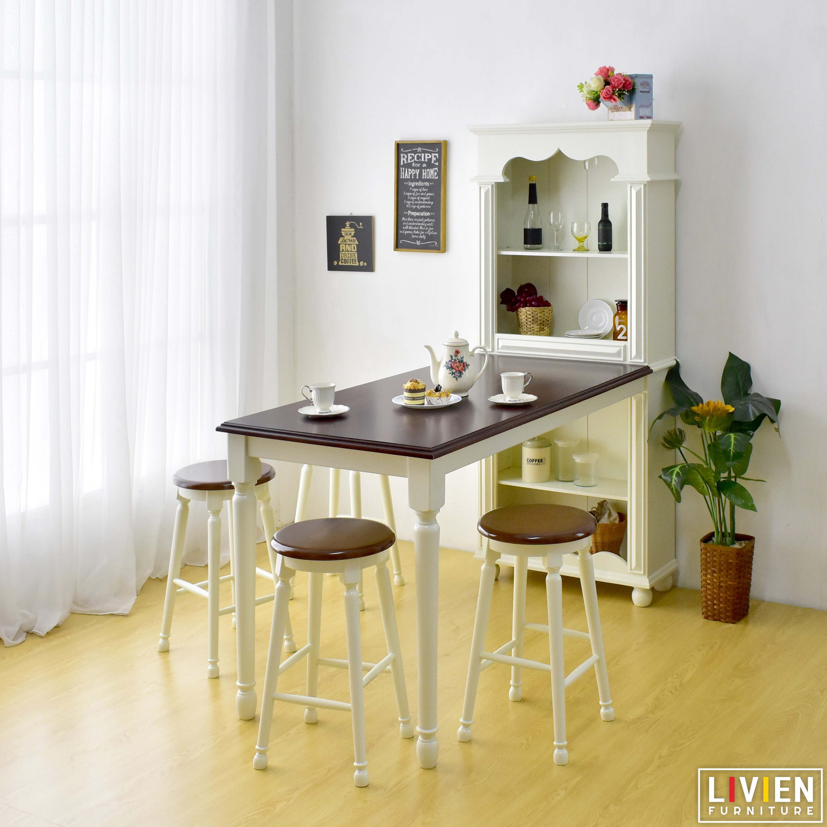 Grace Cabinet Dining Table