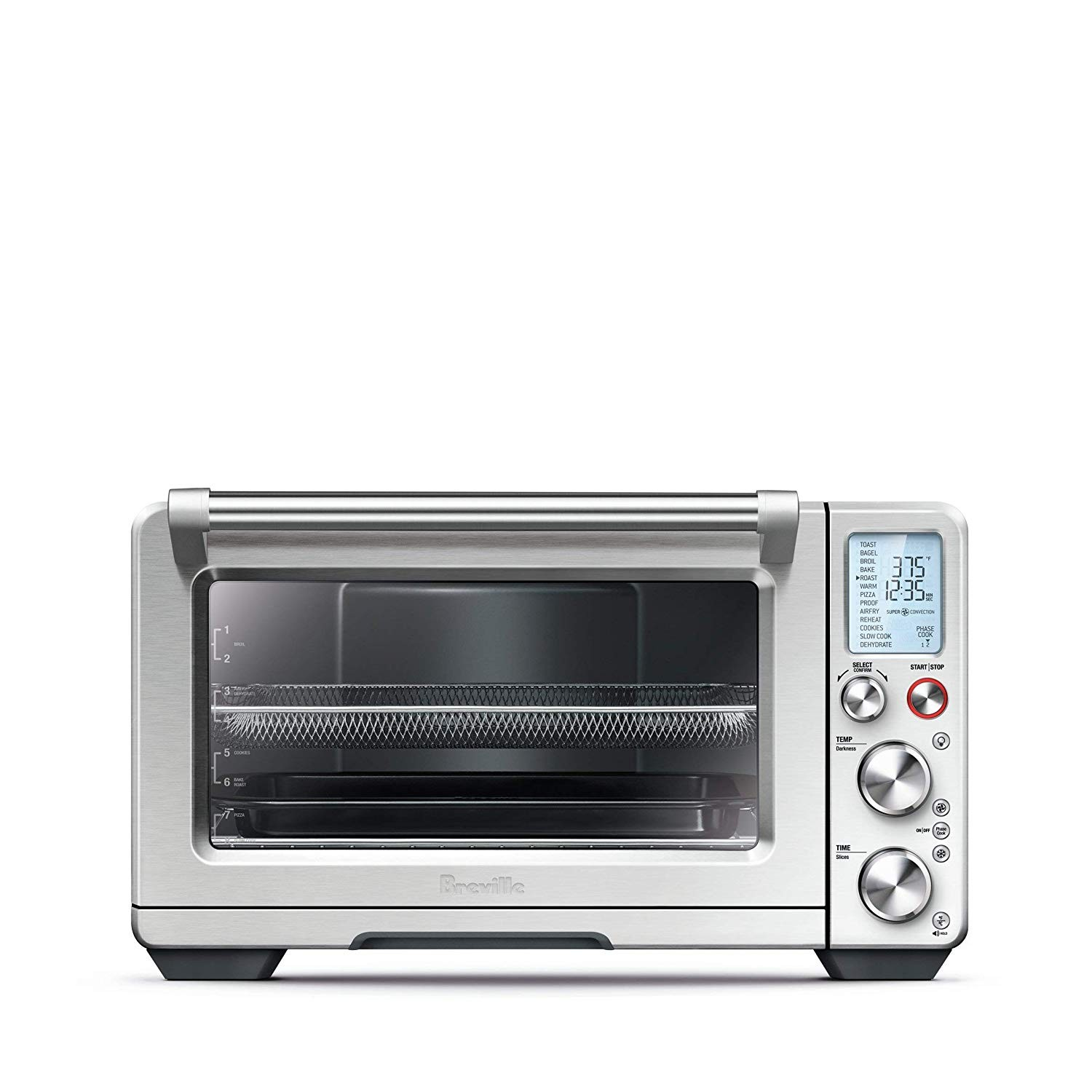 Amazon Breville BOV900BSS Smart Oven with Air Fry Brushed Stainless Steel Kitchen & Dining