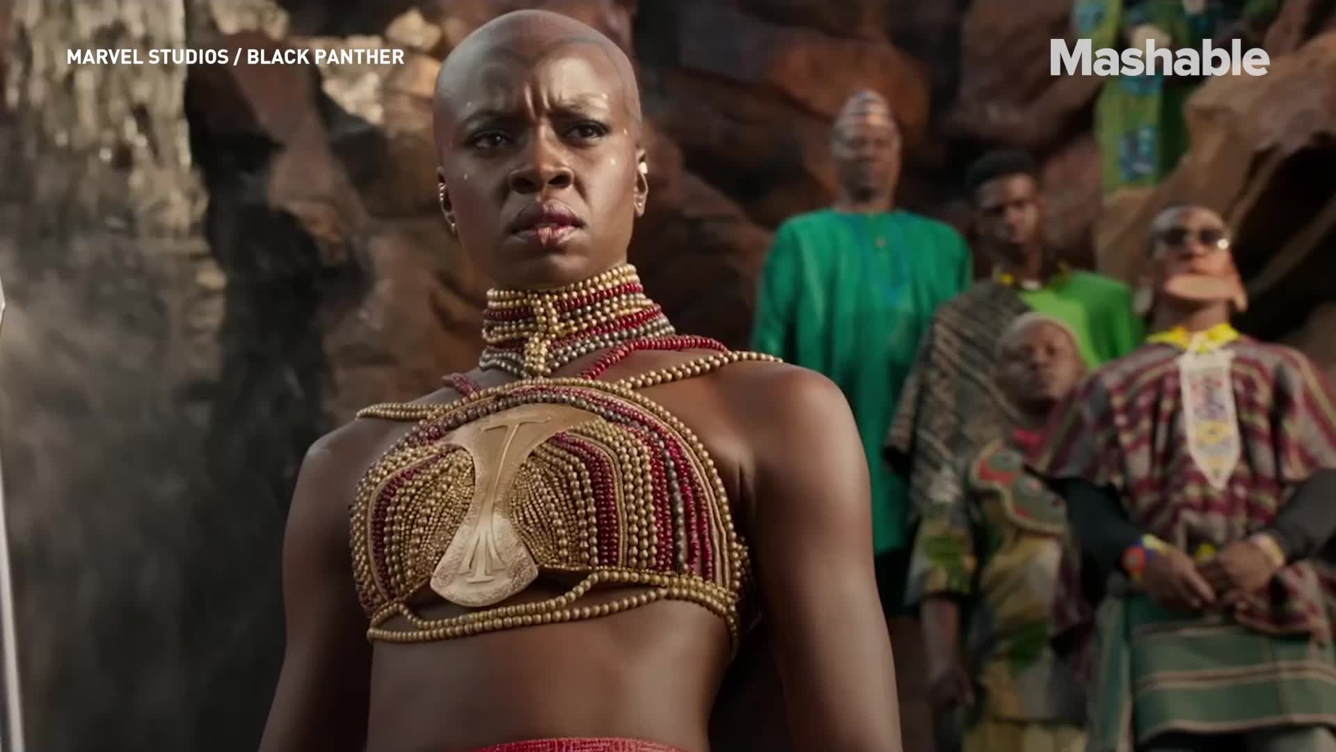 WATCH A deeper look at the Afrofuture costumes of Black Panther and the women who brought them to life
