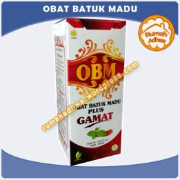 Obat Batuk Madu plus Gamat
