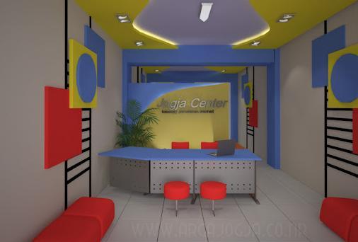 Desain Interior Resepsionis dan Ruang Kerja Kantor  rumahbagusku