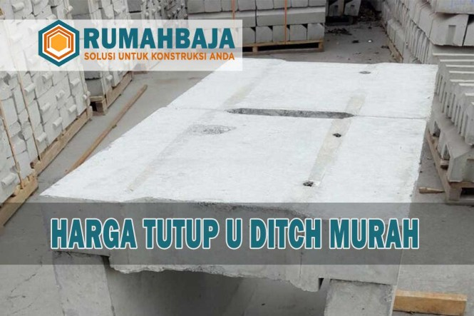 harga tutup / cover u ditch murah