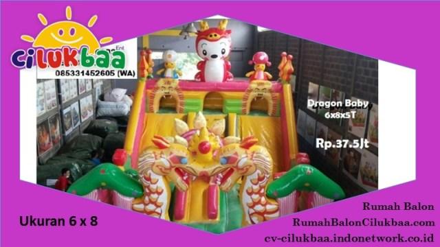 Jual Istana Rumah Balon | rumah balon di semarang | CV. CILUKBAA