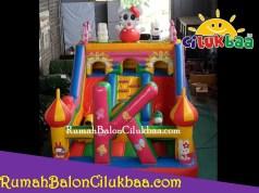 harga istana balon ukuran 4x6 - Hello Kitty