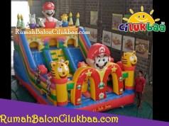 jual istana balon murah - Mario 4x6