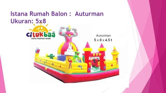 Rumah Balon, Istana Balon, Rumah Balon Samarinda, Rumah Balon Auturman