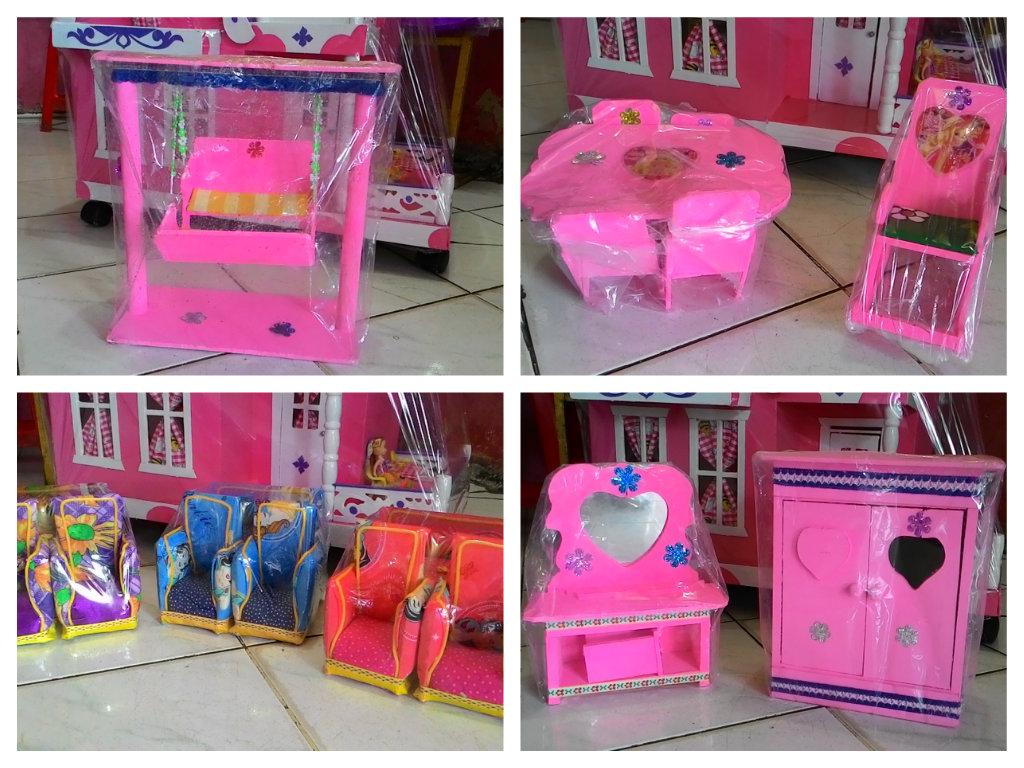Terjual Jual Rumah BARBIE Kayu  Mainan Boneka BARBIE
