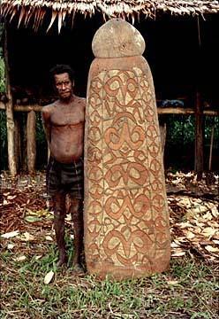 Seni Ukir Kayu Suku Asmat  Rumah Blog Papua