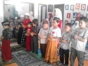 Kegiatan Belajar Sholat di Rumah Cerdas Islami (3)