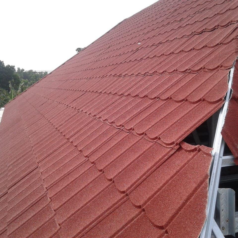 atap baja ringan nganjuk genteng metal rainbow bangun rumah dan
