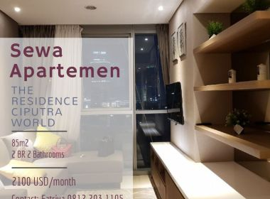 Sewa Apartemen The Residence Ciputra World