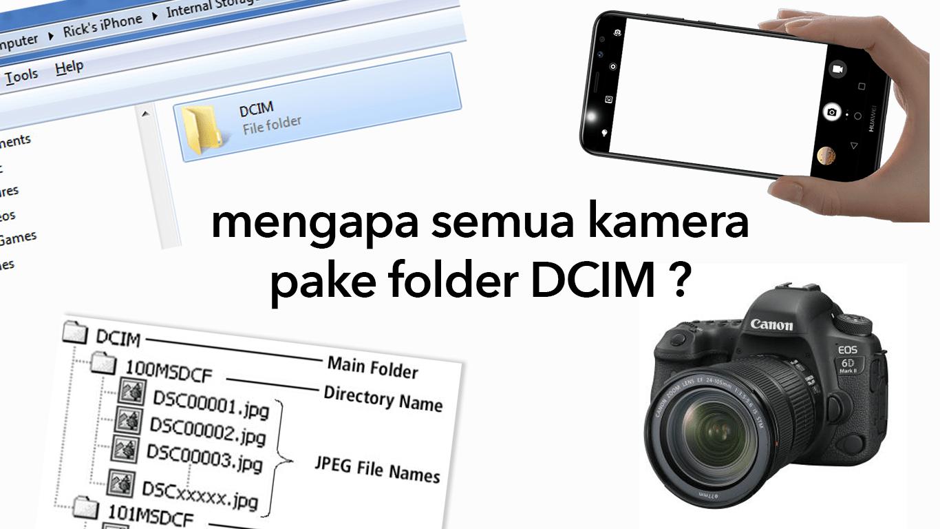 """Ternyata Ini Arti """"DCIM"""" Sebenarnya! Kenapa Semua Kamera Menyimpan Fotonya di Folder ini?"""