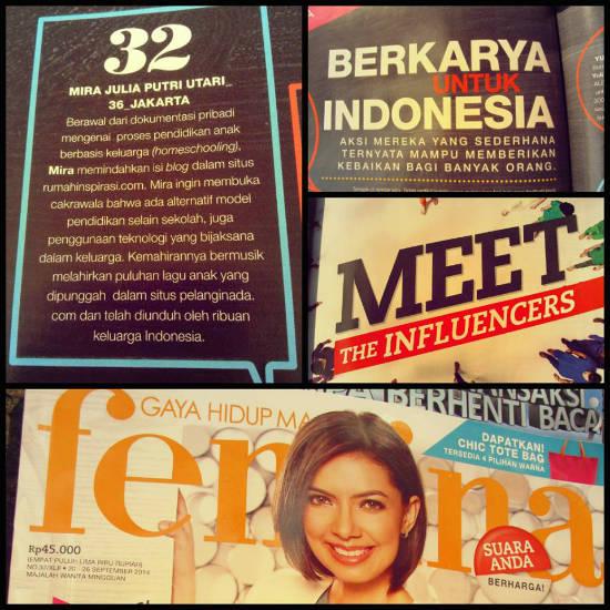 42 influencer majalah femina