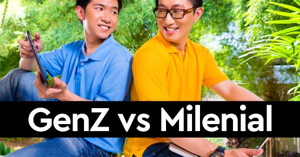 generasi Z vs generasi milenial