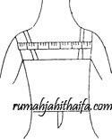 lebar punggung Cara mengukur badan wanita dewasa