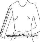 panjang lengan Cara mengukur badan wanita dewasa