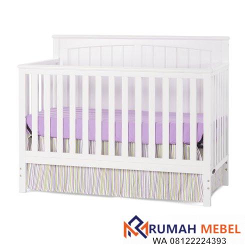 Tempat Tidur Bayi Simple
