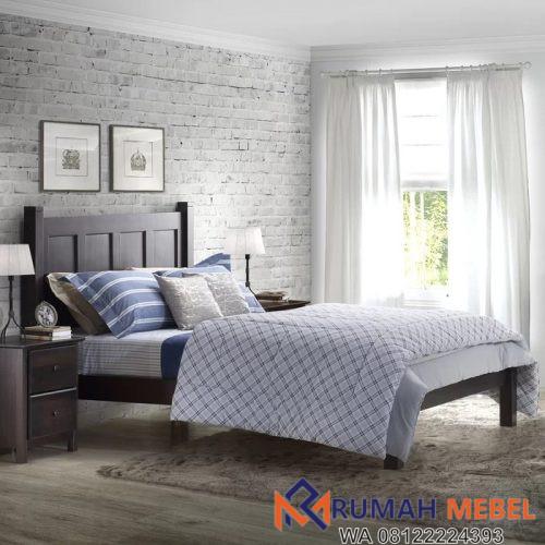 Tempat Tidur Murah Berkualitas Kayu Jati
