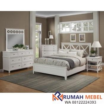 Kamar Set Minimalis Putih Anne