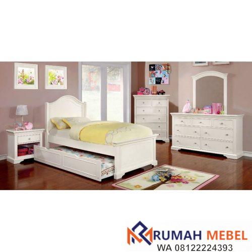 Set Kamar Tidur Anak Wetzel Putih