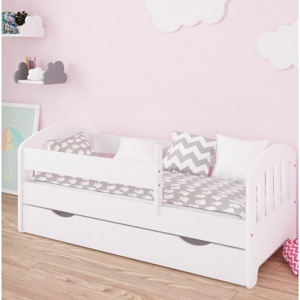 Ranjang Tidur Anak Putih Larkin