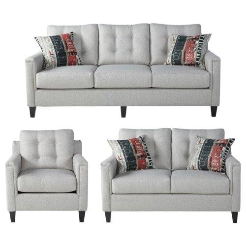 Sofa Set Minimalis Modern Tiradentes