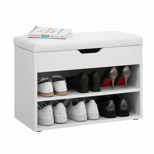 Rak Sepatu Kayu Modern Minimalis Beth