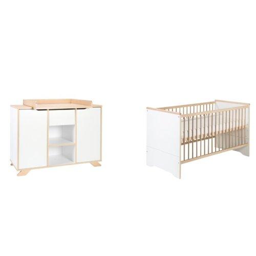 Set Tempat Tidur Bayi Kayu Tokyo