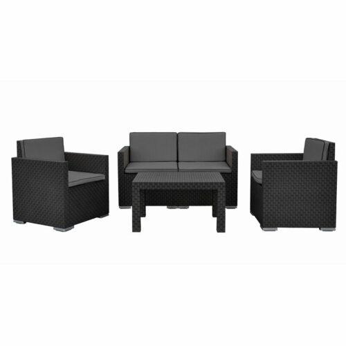 Sofa Rotan Modern Egidio