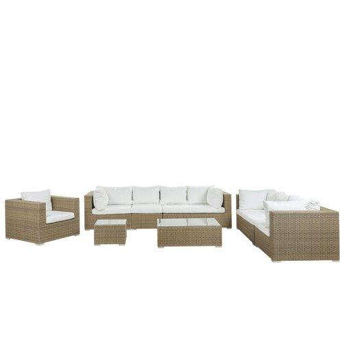 Sofa Tamu Rotan Minimalis Mujde