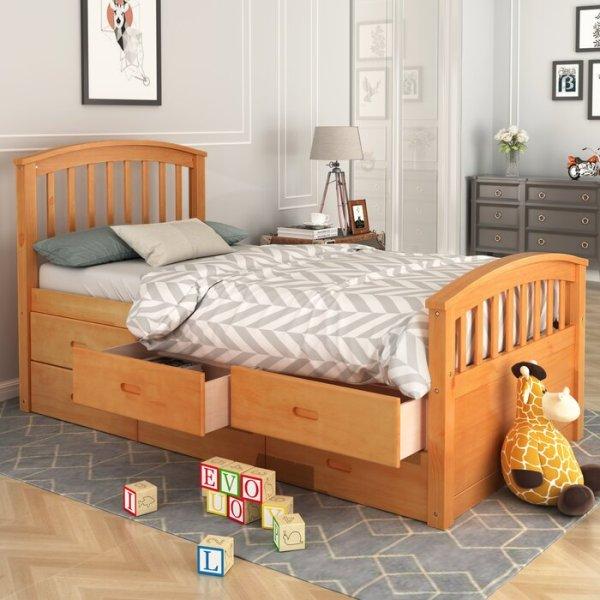 Tempat Tidur Anak Kayu Lowndesboro