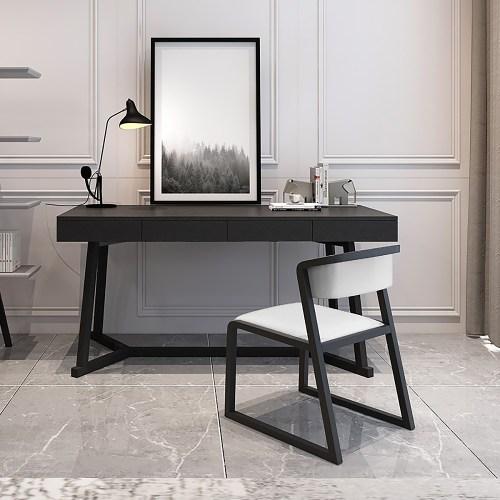 Meja Kerja Di Rumah Modern Minimalis Black