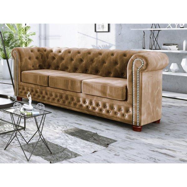 Sofa Klasik Terbaru 3 Dudukan Alcide