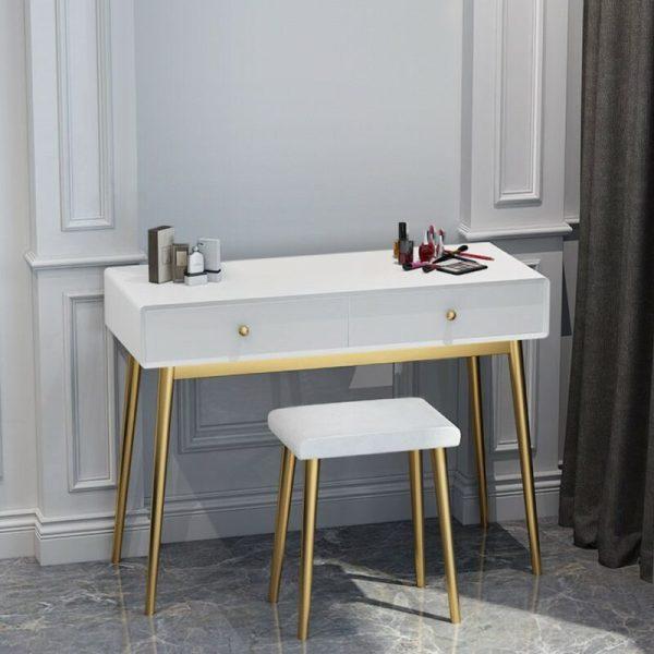 Meja Rias Minimalis Putih Racoco
