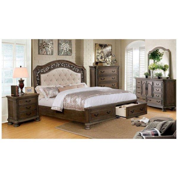 Set Tempat Tidur Mewah Klasik Whitt