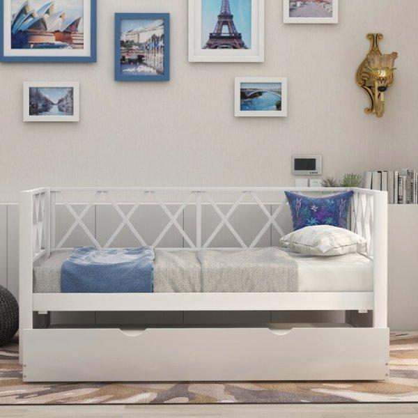 Sofa Bed Kayu Addieville