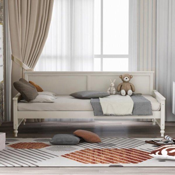 Sofa Bed Kayu Shelby Minimalis