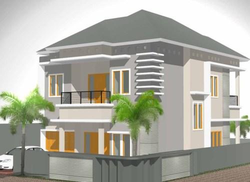 Tampak Depan Rumah Minimalis Elegan Rumah Micromalis