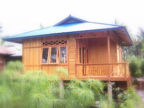 Rumah Kayu Panggung Minimalis  Rumah micromalis