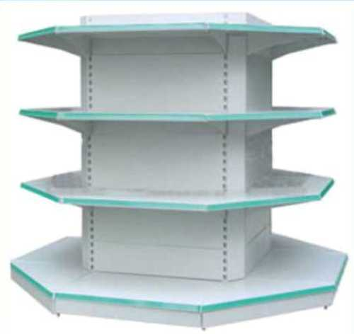 Desain Interior Toko Minimalis dengan Rak Stainless Steel