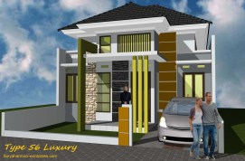 Kredit Rumah Murah Di Surabaya Type 54 Minimalis Modern