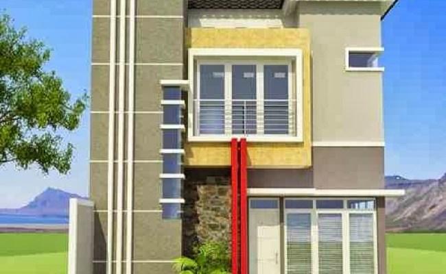 Desain Rumah Minimalis 2 Lantai Luas Tanah 90m2 Rumah